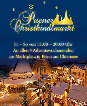 Weihnachtsmarkt Fraueninsel.Christmasmarket On The Island Of Frauenchiemsee Christkindlmarkt